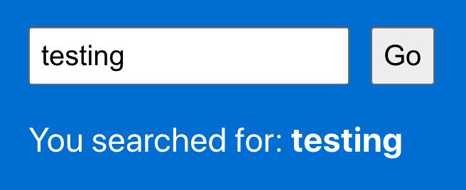 Search demo