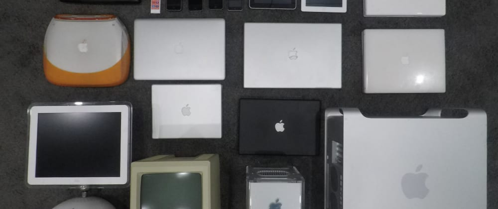 Cover image for Creating a website for my Apple Collection
