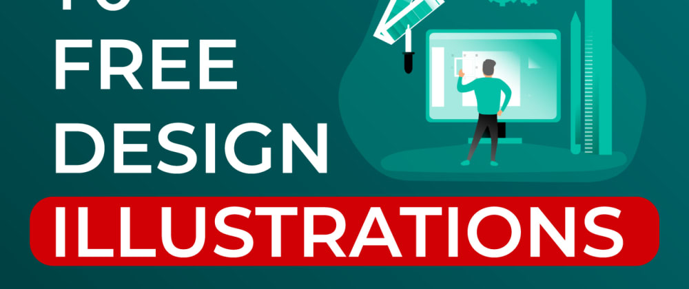 Cover image for Free Design Resources - 10 FREE Illustration Resources for your Next Web Design Project