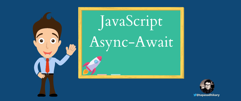 Cover image for JavaScript async and await - in plain English, please
