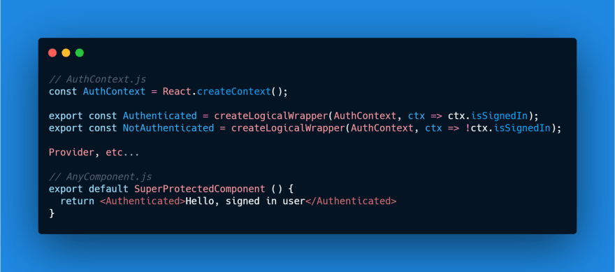 Using Conditional Wrappers