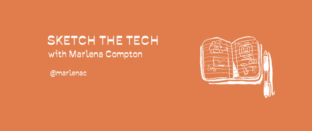 "Cover image for #VisualizeIT Workshop 6: ""Sketch the Tech"" 