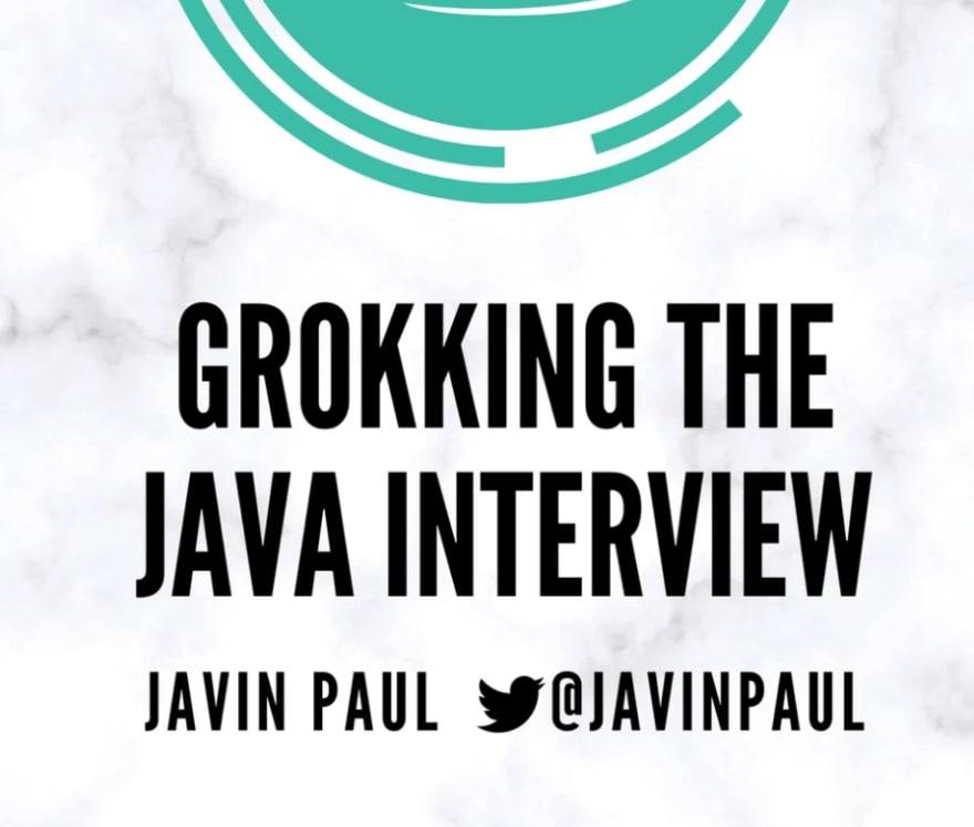 Grokking the Java Interview discount