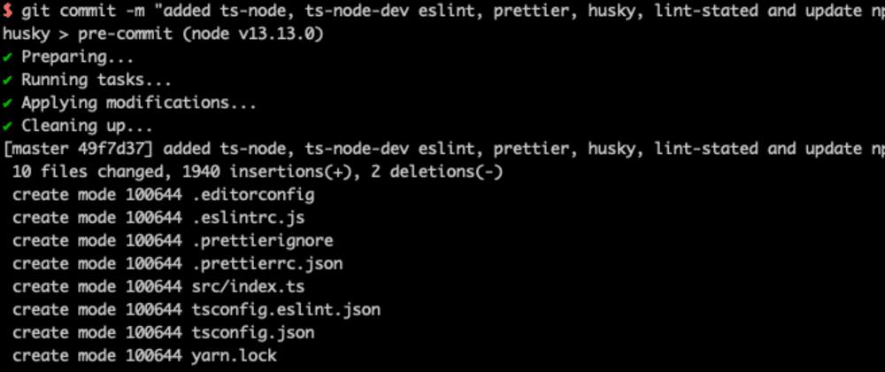 Cover image for Nodejs + TypeScript Boilerplate