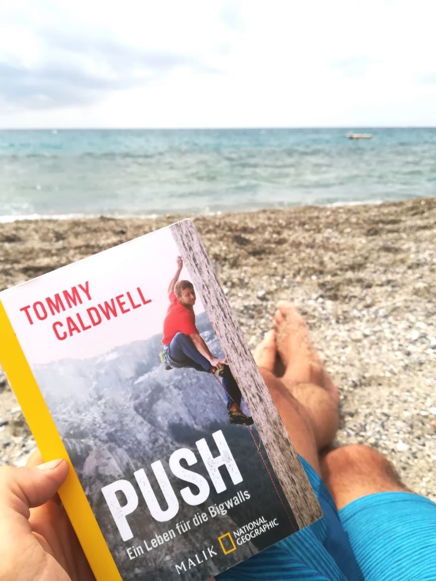 Tommy Caldwell book: the push