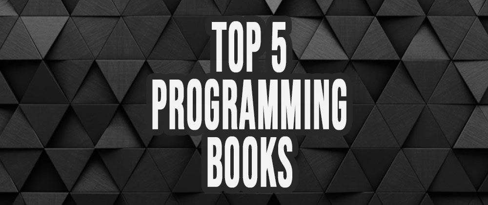 Cover image for Top 5 books EVERY programmer MUST read! 📚
