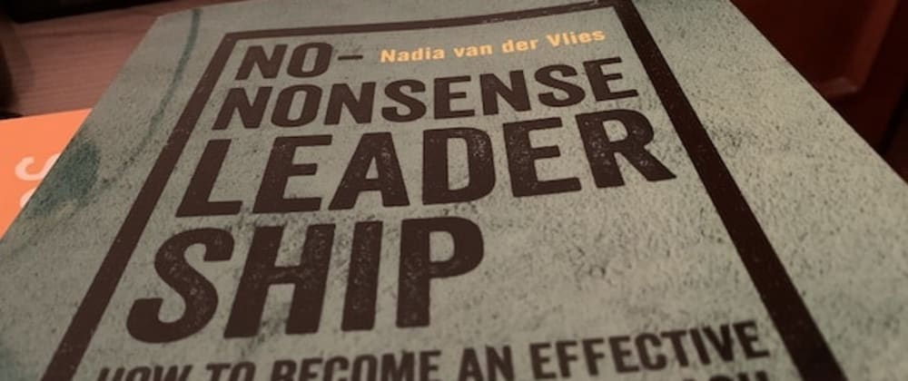 Cover image for Book notes: No-Nonsense Leadership