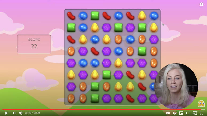 JavaScript Candy Crush clone