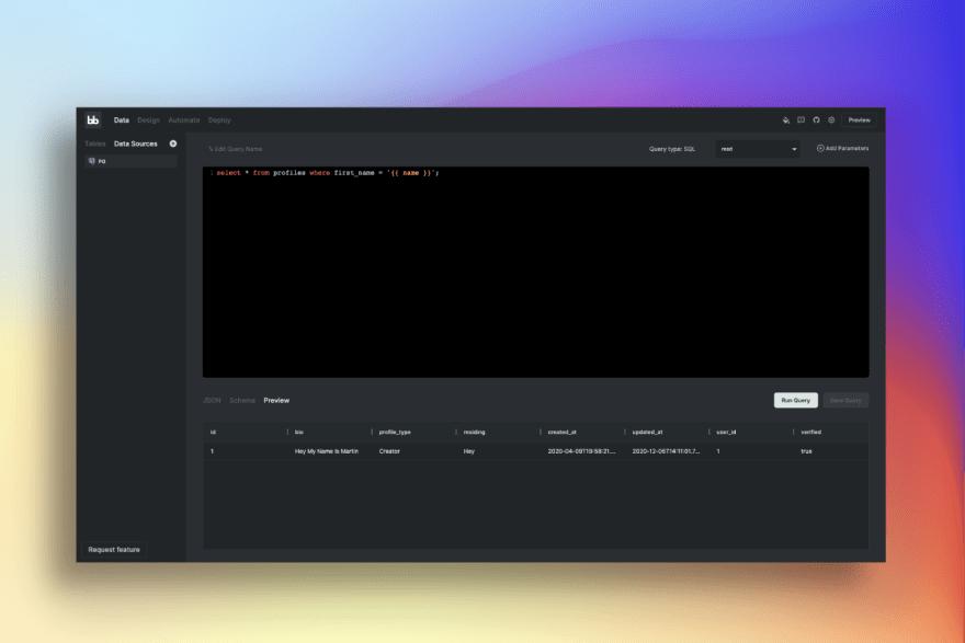 Query UI