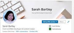 Header One on LinkedIn