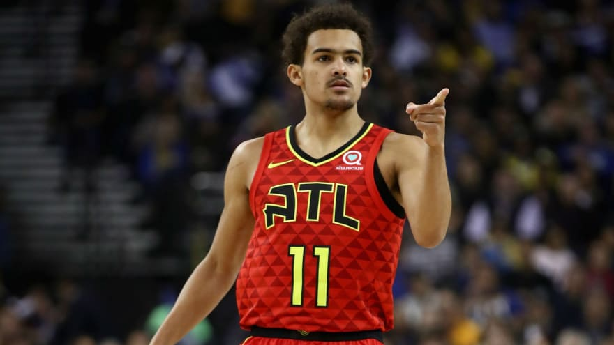 Trae Young in Fox Sports