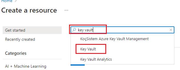 KeyVault-Search