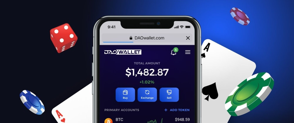 Cover image for Give Your Convenience-O-Meter a New Bar, As DAOWallet and Token Claim Are Coming Soon