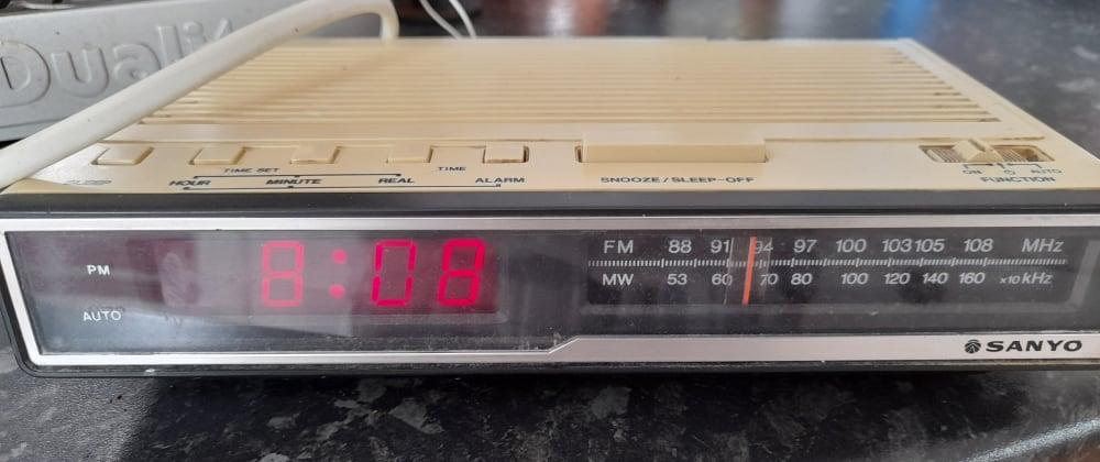 Cover image for Raspberry Pi radio alarm clock - part 1