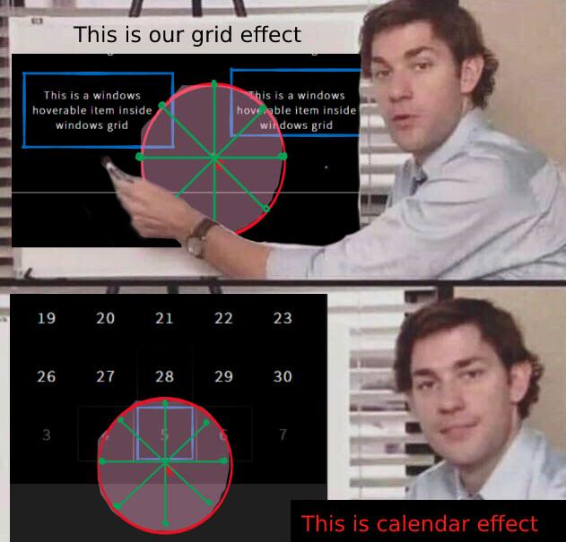grid vs calendar