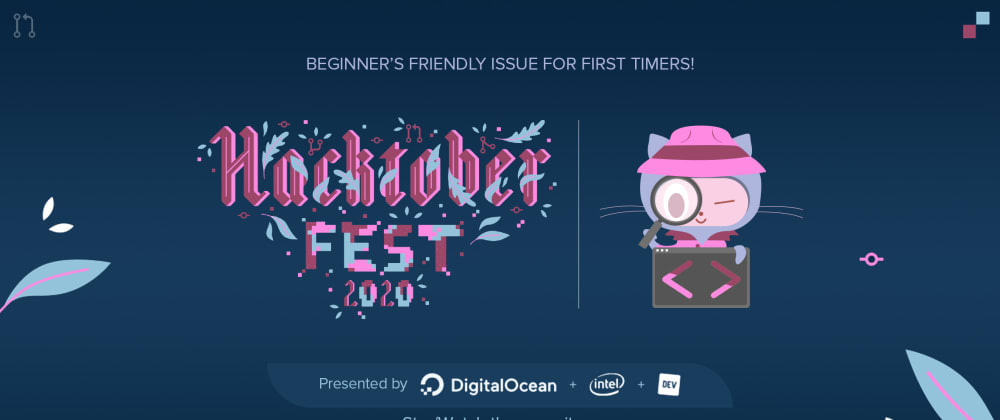 Cover image for First time participating in the Hacktoberfest event