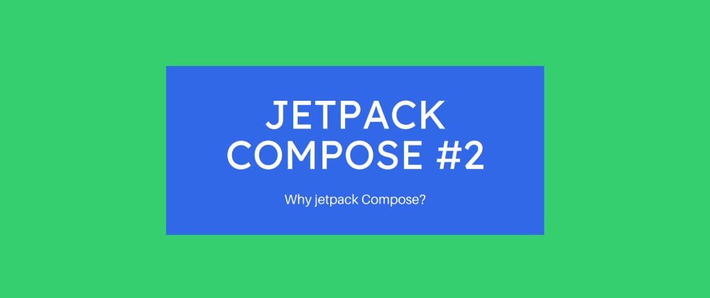 Cover image for Why should I go for compose?