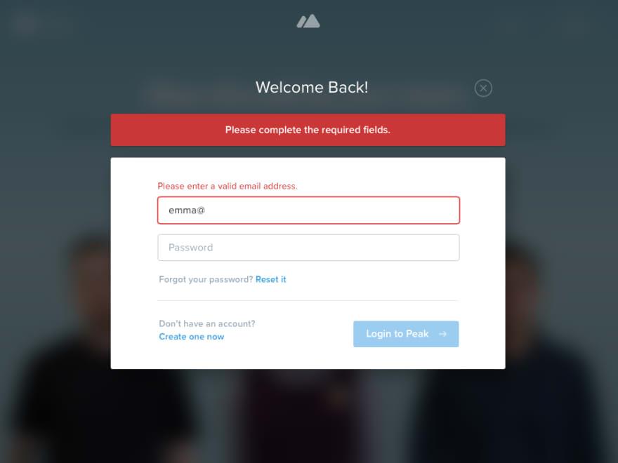 Image result for form error screenshot