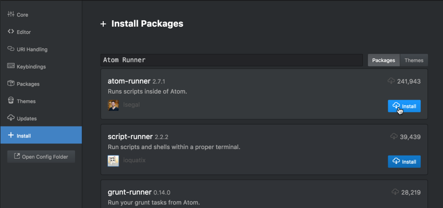 How to run Perl scripts in Atom - DEV Community 👩 💻👨 💻