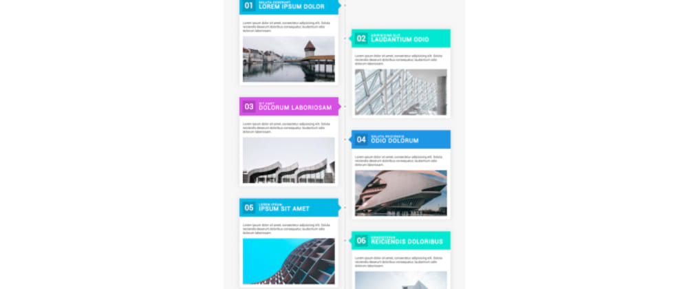 Cover image for Colorful timeline, Survey, Directional hover | Module Monday 42