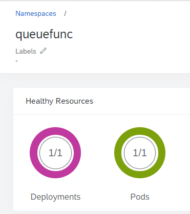 Azure Function Pod without Scaling