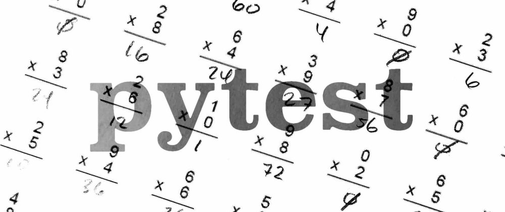 Cover image for Unit testing with pytest