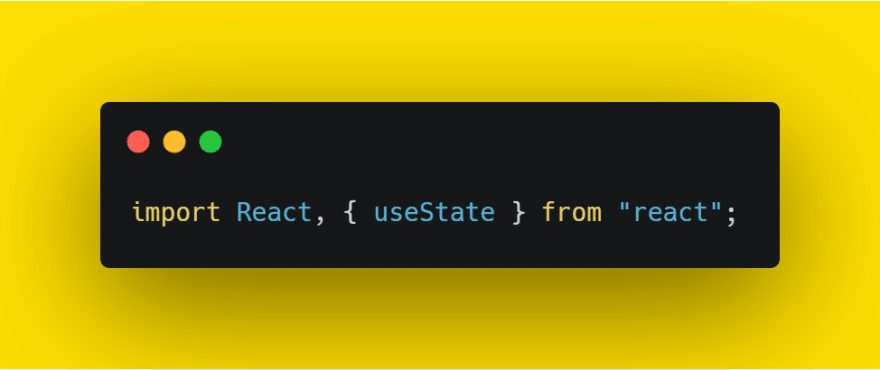 import useState