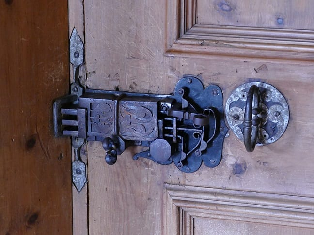 Image of an antique lock