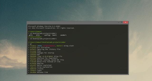 "Alt ""cmder root environment variable setup"""