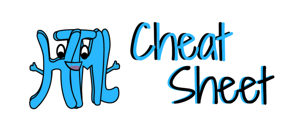 Cover image for HTML Cheat Sheet
