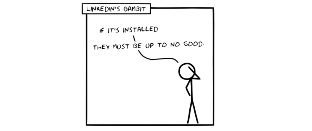 Cover image for LinkedIn's Exfiltration Gambit