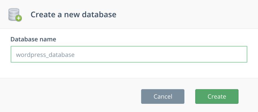 Create a New MySQL Database - ScaleGrid DBaaS