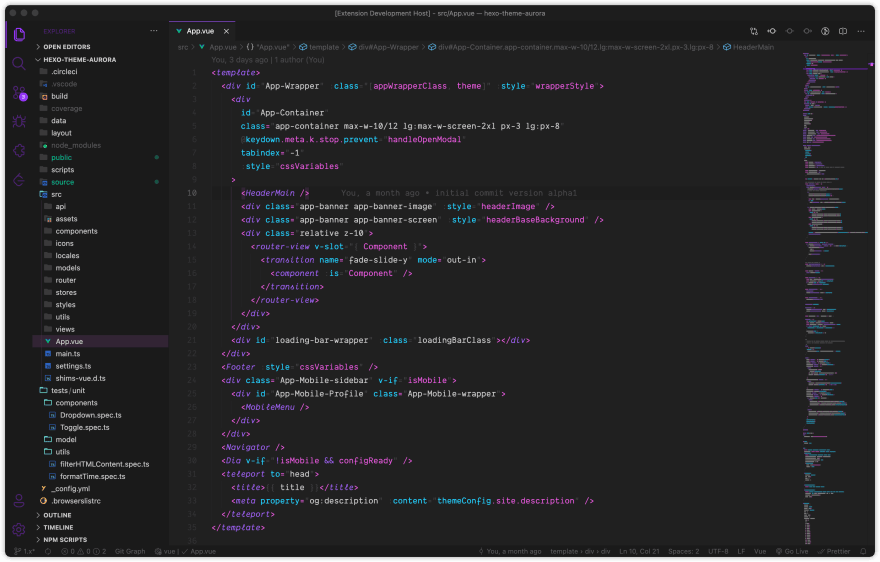 Vue-HTML