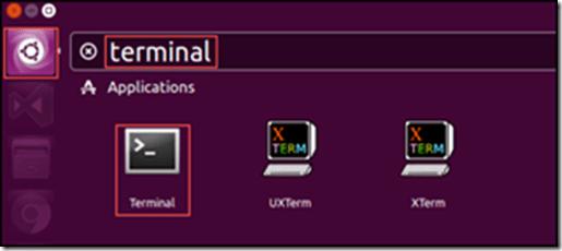 Ubuntu terminal using Dash