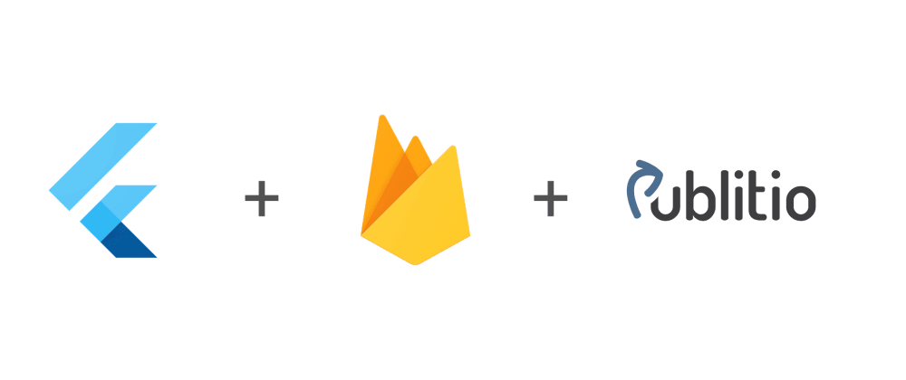 Cover image for How to make a cross-platform serverless video sharing app with Flutter, Firebase and Publitio