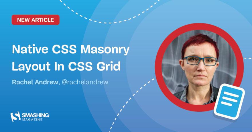 Native CSS Masonry Layout