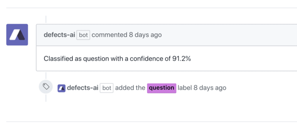 Cover image for How I built Defects AI a machine learning service to predict GitHub labels.