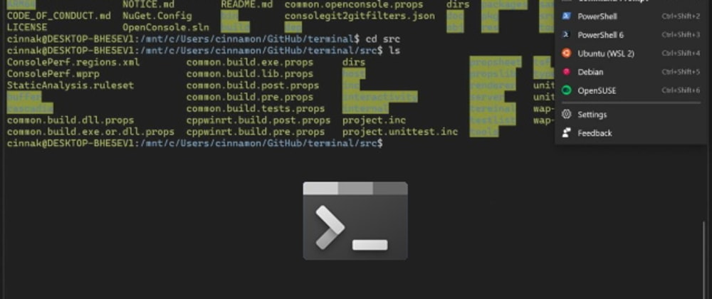 Cover image for How to customize the new Windows Terminal with Visual Studio Code