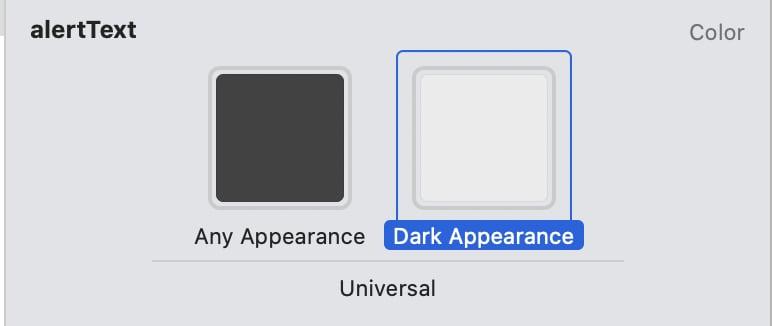 Light & Dark Color Set