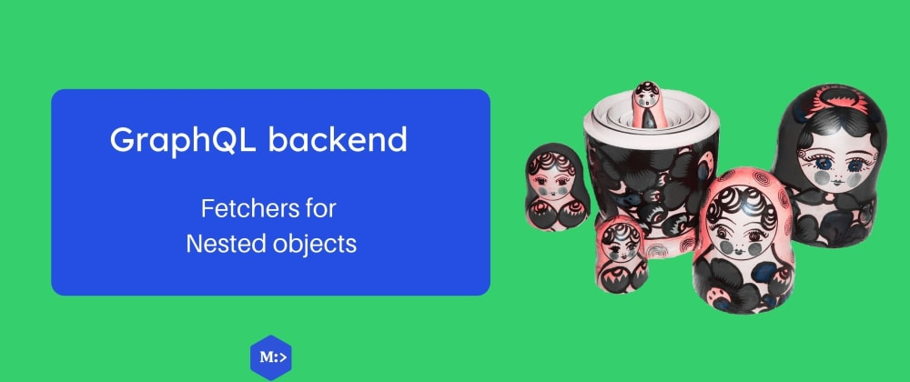 Cover image for GraphQL backend — nested objects