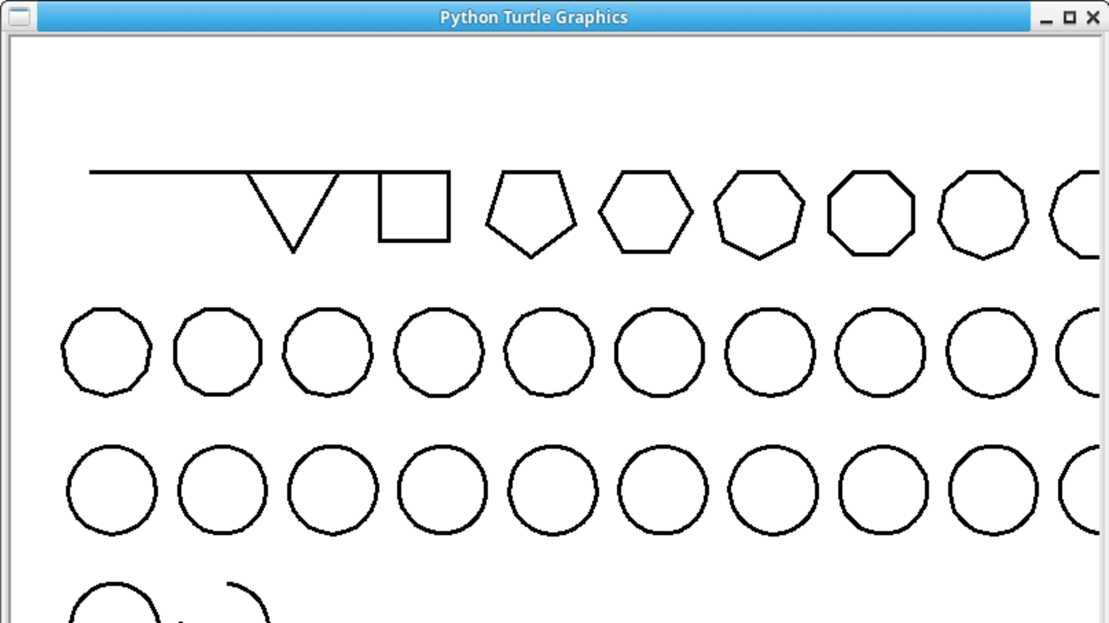 Draw All Shapes With Python Turtle Dev Community