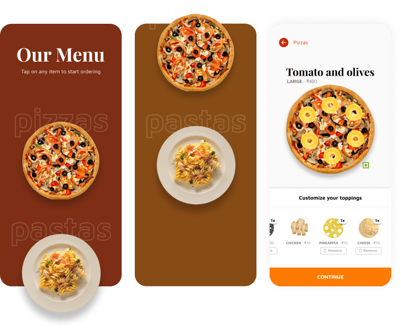 A Pizza Ordering App — Prompt for Day 2