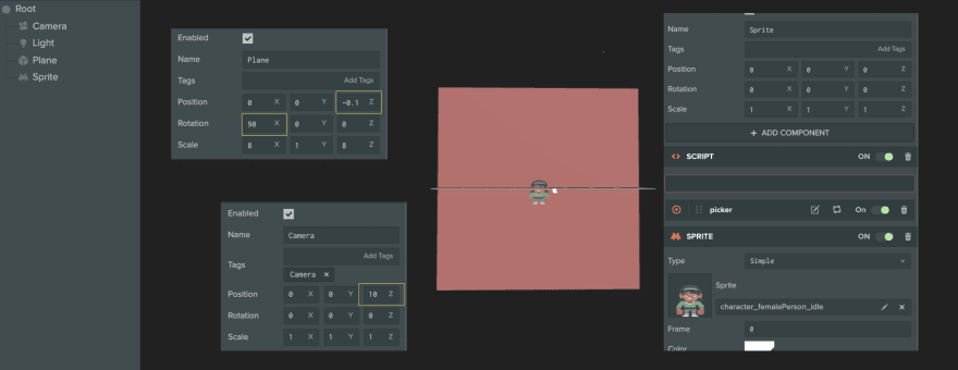 PlayCanvas Project Setup