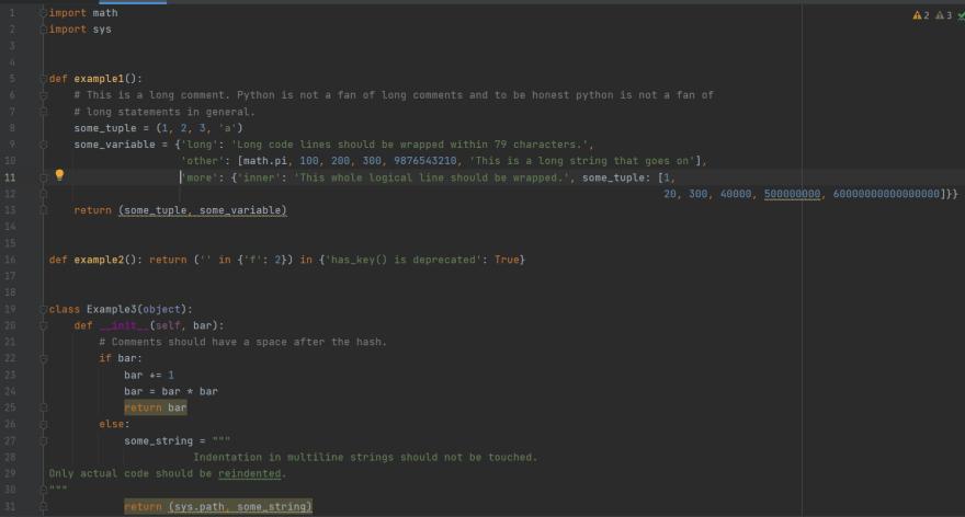 Test Script after autopep8 aggressive