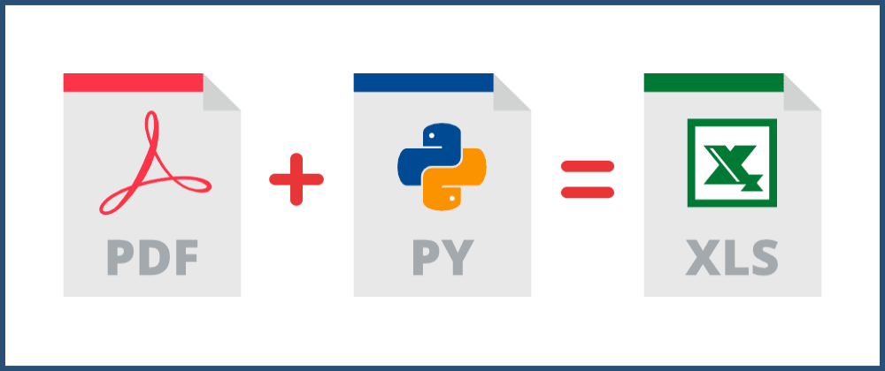 Cover image for Automate data entry from PDF to Excel with Python