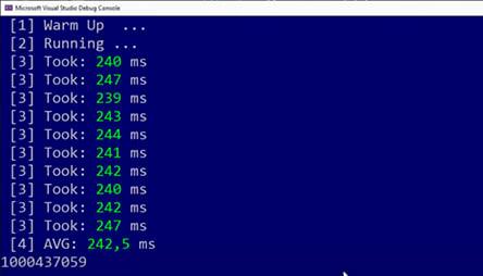 Testing C# function