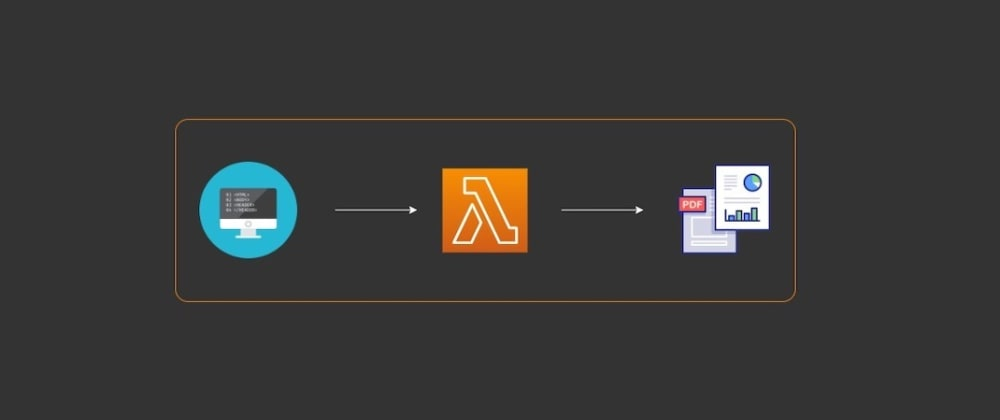 Cover image for Converting HTML to a PDF using Python, AWS Lambda, and wkhtmltopdf