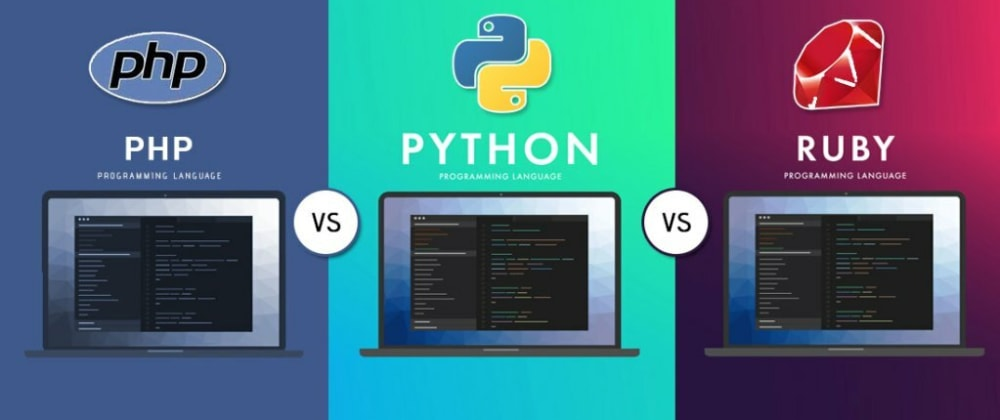 Cover image for Learn Python, PHP, Ruby and Javascript in one Blog Post