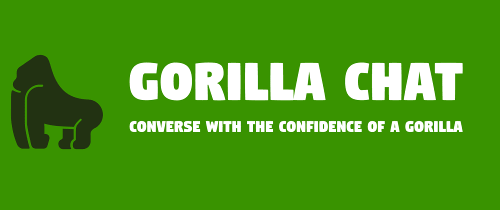 Cover image for Gorilla Chat - Decentralized text chat using Blockstack!