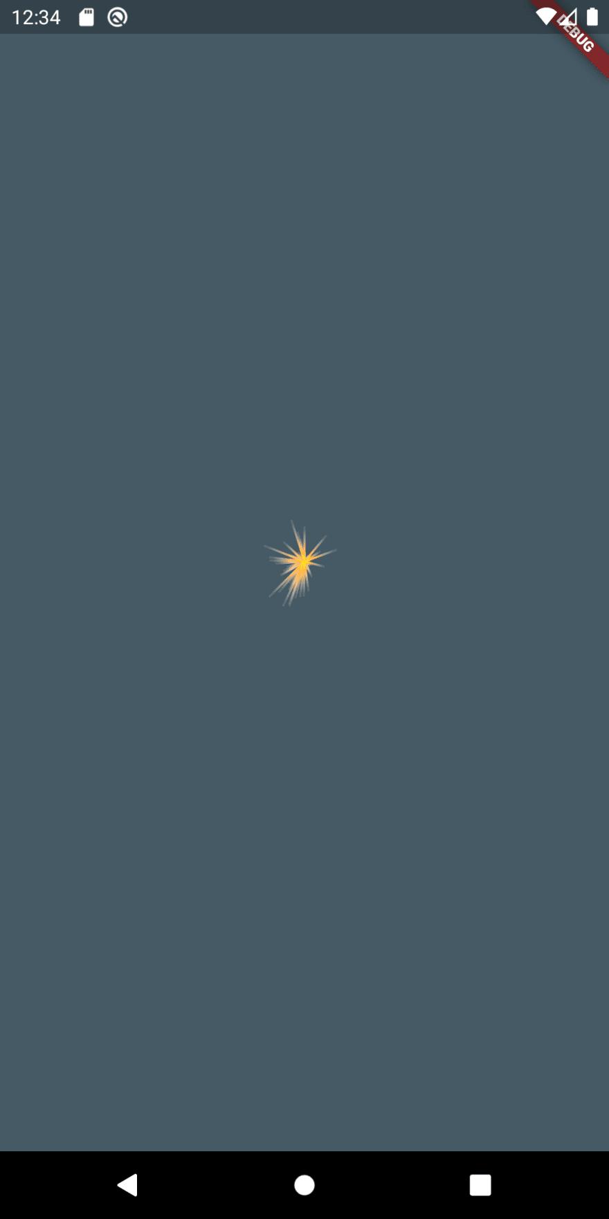 Flutter sparkler iteration 2